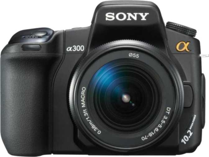 Sony A300 DSLR + Sony DT 18-70mm/ F3.5-5.6