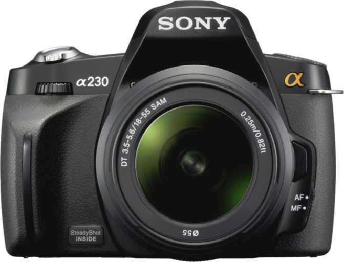 Sony A230 DSLR + Sony DT 18-55mm/ F3.5-5.6 SAM