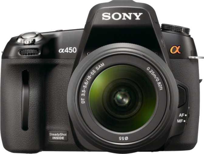 Sony A450 DSLR + Sony DT 18-55mm/ F3.5-5.6 SAM