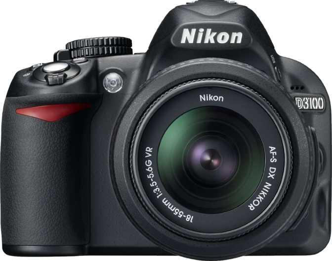 Nikon D3100 + Nikkor AF-S DX 18-55mm f/3.5-5.6G VR