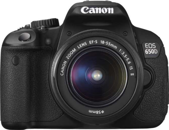 Canon EOS 650D + Canon EF-S 18-55mm