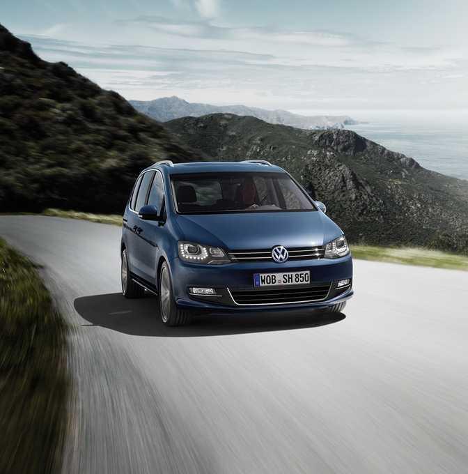 Volkswagen Sharan S 1.4 TSI (2014)