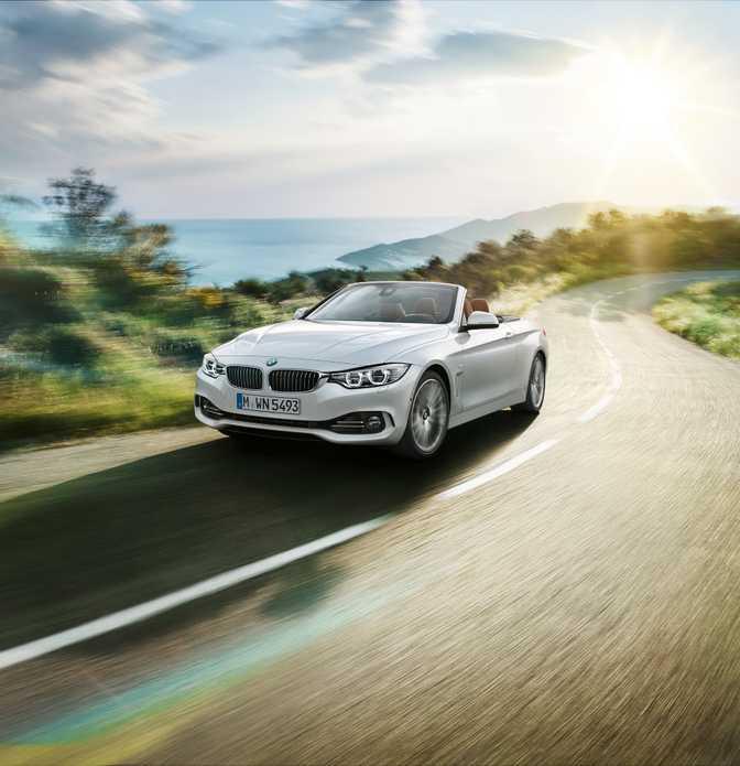 BMW 4 Series Convertible 420d (2014)