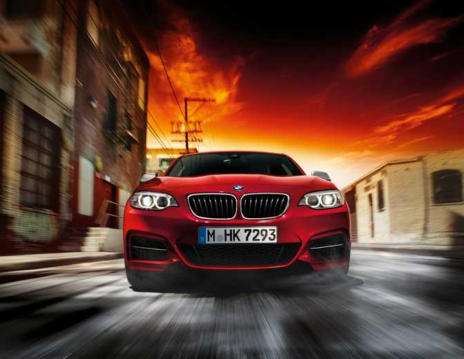 BMW 228i M Sport Coupe (2014)