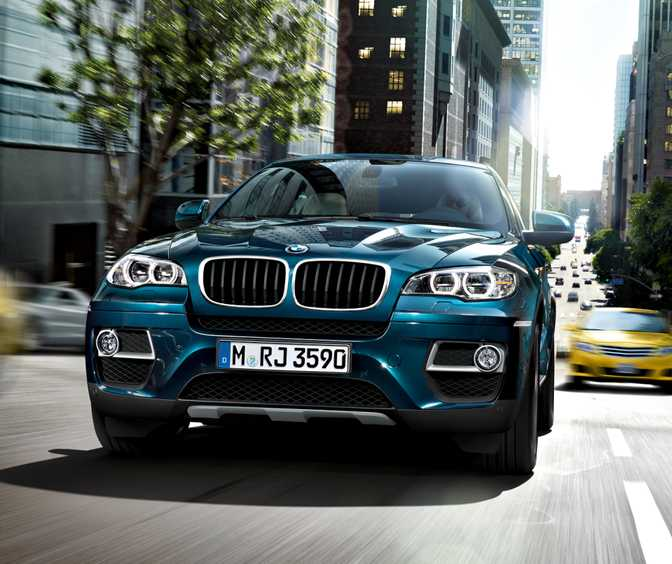 BMW X6 xDrive35i (2014)