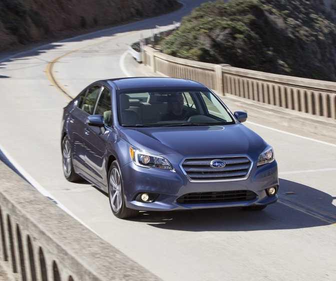 Subaru Legacy Sedan 2.5i (2014)