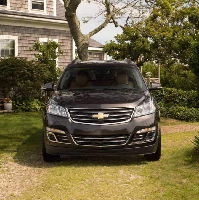 Chevrolet Traverse LS AWD (2014)