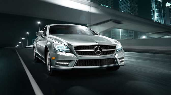 Mercedes-Benz CLS550 Coupe (2014)