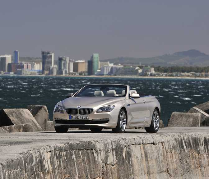 BMW 6 Series Convertible 640d (2014)