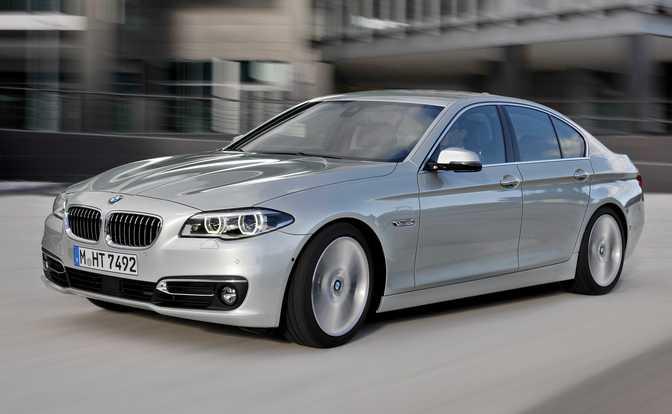 BMW 528i Sedan (2014)
