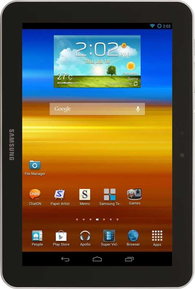 Samsung Galaxy Tab 8.9 P7310 16GB