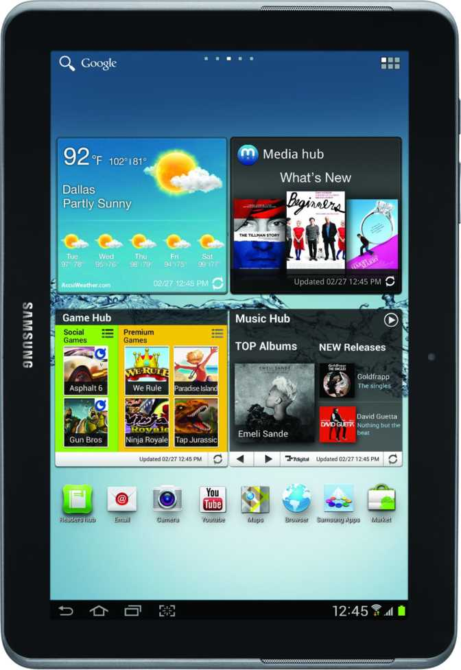 Samsung Galaxy Tab 2 10.1 P5100 32GB