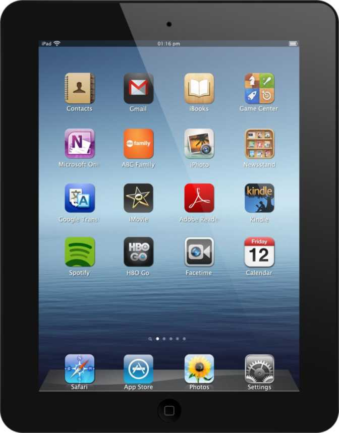 Apple iPad (Late 2012) with WiFi + 3G