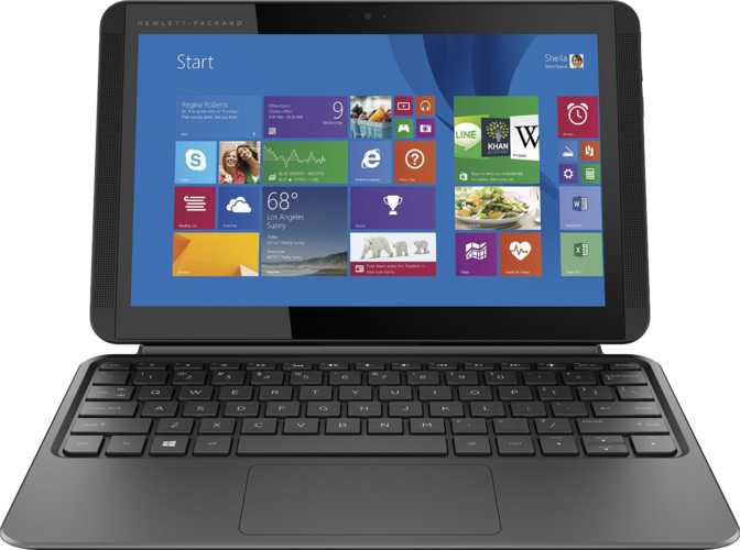 "HP Pavilion x2 10t Touch 10.1"" Intel Atom Z8300 1.44GHz / 2GB / 32GB"