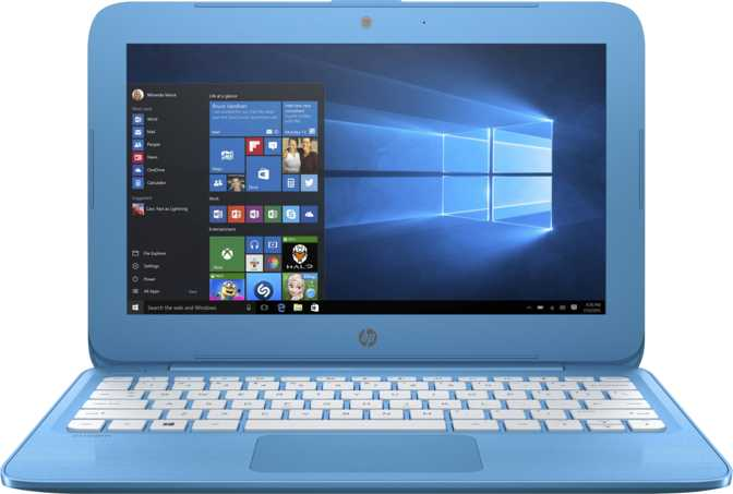 """HP Stream 11-y010nr 11.6"""" Intel Celeron N3060 1.6GHz / 4GB / 32GB"""