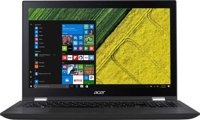 "Acer Spin 3 15.6"" Intel Core i7-7500U 2.7GHz / 12GB / 1TB HDD"