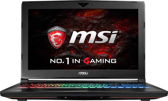 """MSI GT62VR Dominator Pro-005 15.6"""" Intel Core i7 6700HQ 2.6GHz / 32GB / 256GB"""