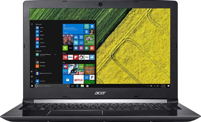"Acer Aspire 5 17.3"" Intel Core i7-8550U 1.8GHz / 12GB / 1TB HDD + 256GB SSD"