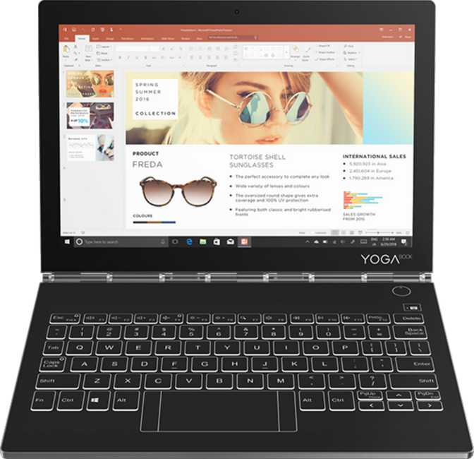 "Lenovo Yoga Book C930 10.8"" Intel Core m3-7Y30 1GHz / 4GB RAM / 128GB SSD"