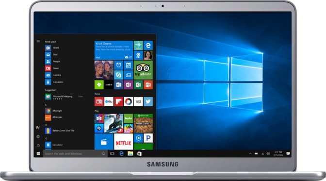 "Samsung Notebook 9 15"" Intel Core i7-7500U 2.7GHz / 16GB / 256G SSD"