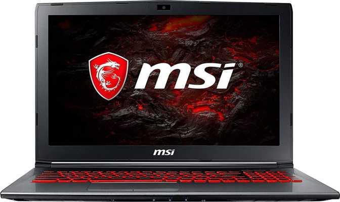 "MSI GV62 7RC 15.6"" Intel Core i5-7300HQ 2.5GHz / 8GB RAM / 128GB SSD + 1TB HDD"