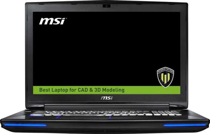 """MSI WT72 6QK 17.3"""" Intel Core i7 6700HQ 2.6GHz / 16GB / 128GB"""