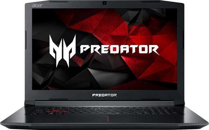 """Acer Predator Helios 300 17.3"""" Intel Core i7-7700HQ 2.8GHz / 16GB / 1TB HDD + 256GB SSD"""