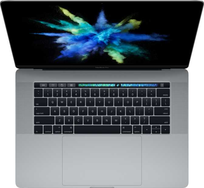"""Apple MacBook Pro (2016) 15"""" with Touch Bar and Touch ID"""