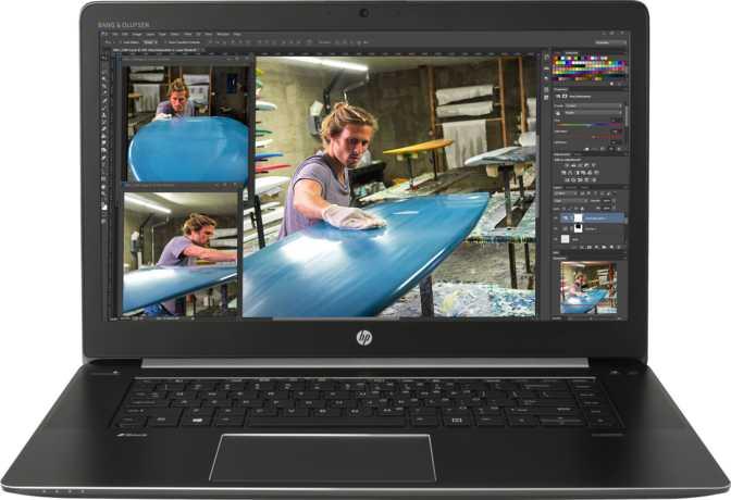 "HP ZBook Studio 15.6"" Intel Core i7 6820HQ 2.7GHz / 32GB / 128GB"