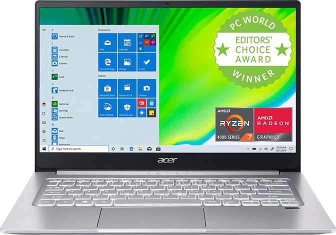 """Acer Swift 3 14"""" AMD Ryzen 5 4500U 2.3GHz / 8GB RAM / 256GB SSD"""