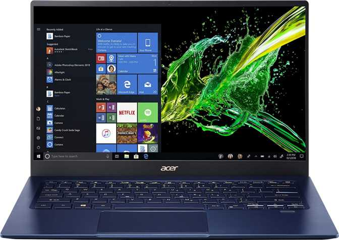 "Acer Swift 5 14"" Intel Core i7-1065G7 1.3GHz / 16GB RAM / 1TB SSD"