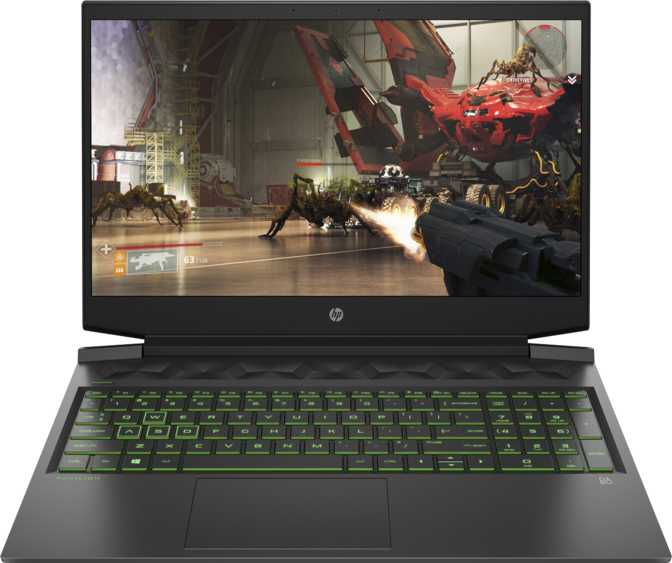 "HP Pavilion Gaming 16.1"" Intel Core i7-10750H 2.6GHz / 12GB RAM / 1TB HDD + 256GB SSD"