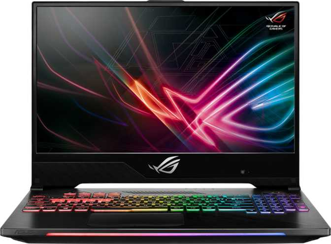 "Asus ROG Strix Hero II 15.6"" Intel Core i7-8750H 2.2GHz / 16GB RAM / 1TB SSD + 1TB HDD"