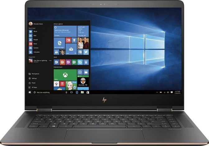 """HP Spectre x360 (2017) 15.6"""" Intel Core i7-7500U 2.7GHz / 16GB / 512GB"""