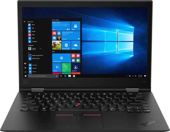 "Lenovo ThinkPad X1 Yoga (2018) 14"" WQHD IPS Intel Core i7-8650U 1.9GHz / 16GB RAM / 512GB SSD"