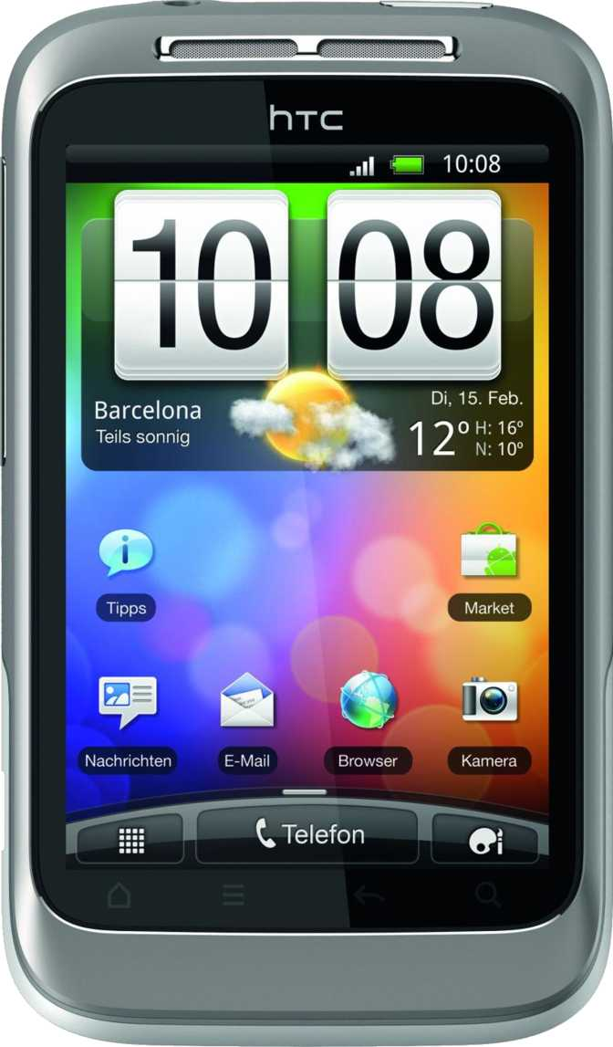 HTC Wildfire S vs Samsung Galaxy mini 2 S6500