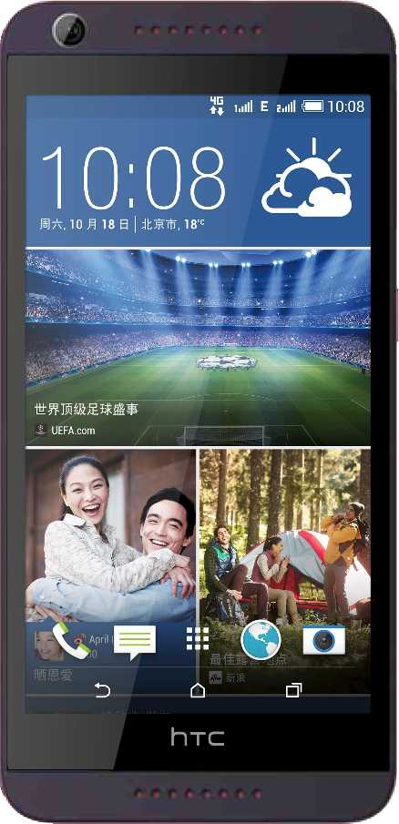 Huawei Ascend P6 vs HTC Desire 626