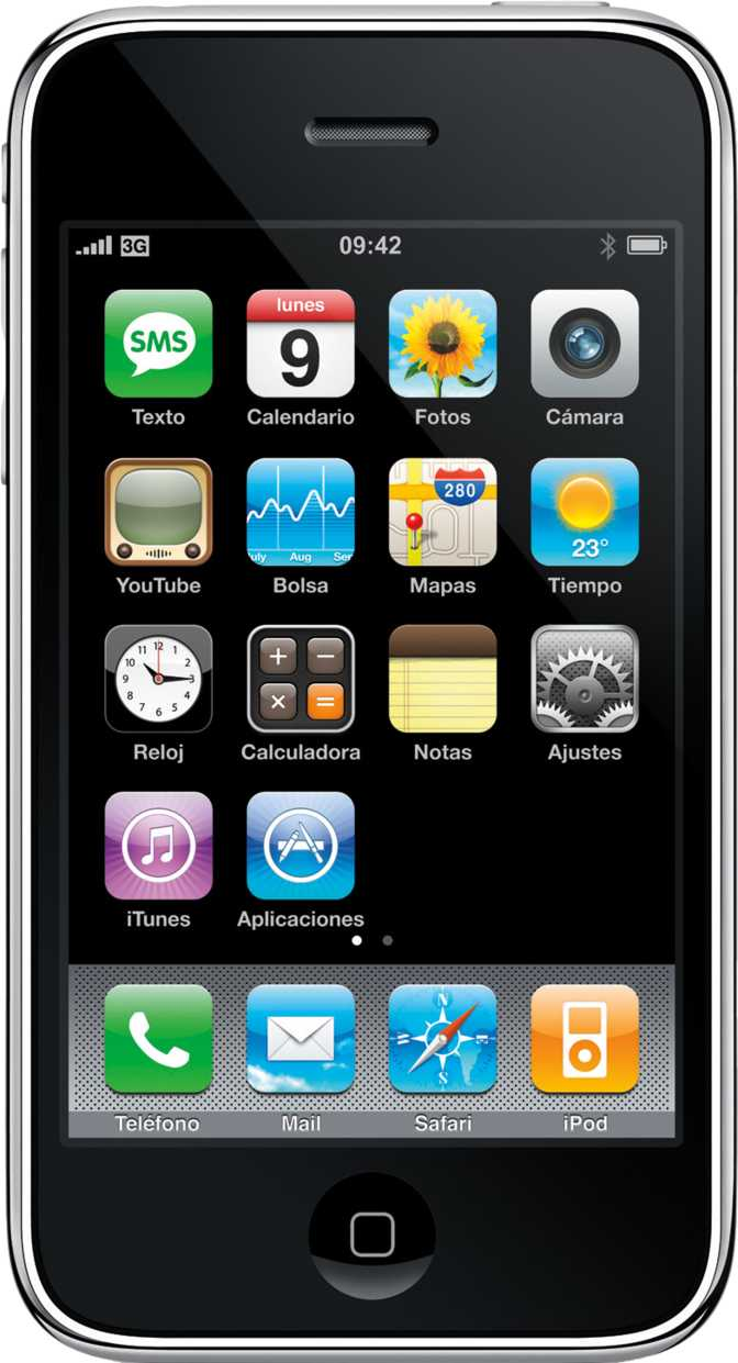LG X screen vs Apple iPhone 3GS