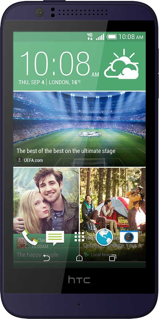 Huawei Ascend P6 vs HTC Desire 510