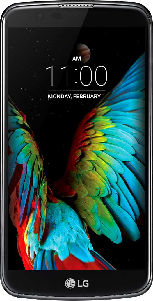 LG K10 vs LG X screen