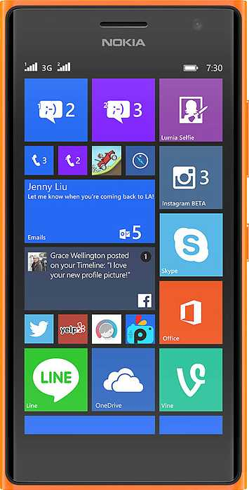 Nokia Lumia 735 vs HTC Sensation