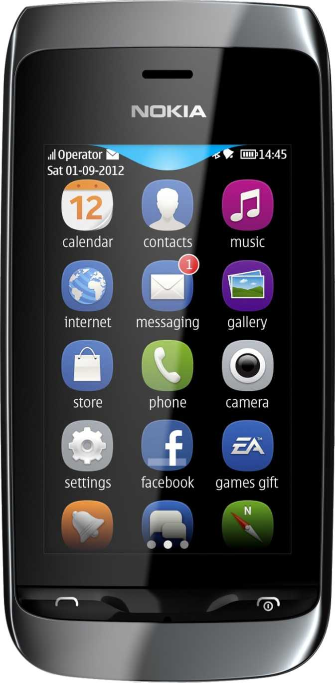 Nokia Asha 309 vs Samsung Galaxy Ace 2
