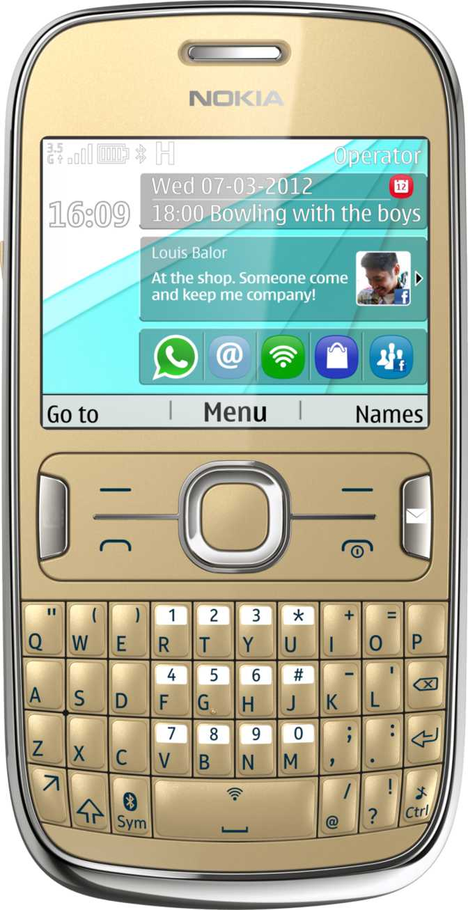 Samsung Galaxy Chat B5330 vs Nokia Asha 302
