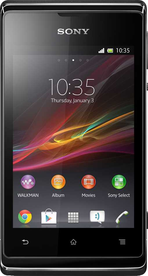 LG Optimus L3 E400 vs Sony Xperia E