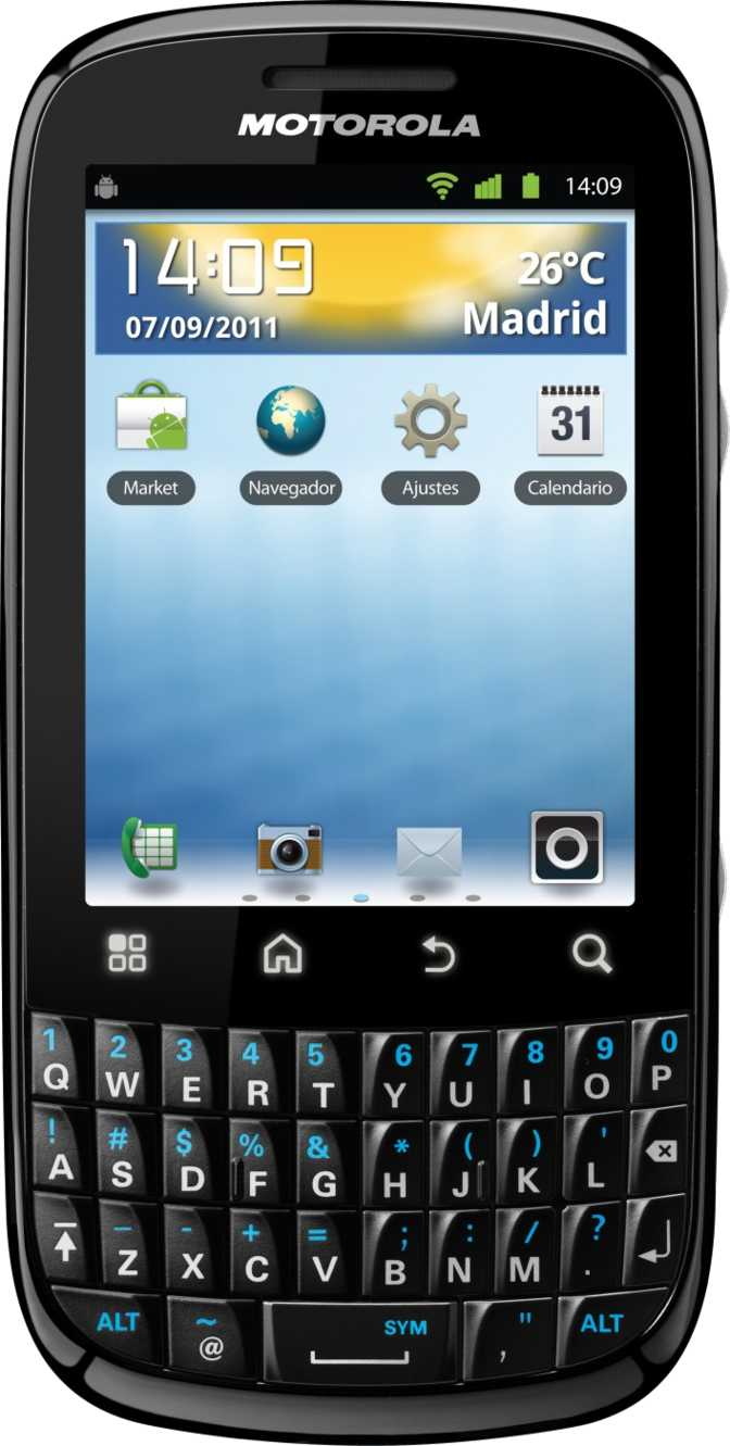 Motorola Defy Mini XT320 vs Motorola FIRE