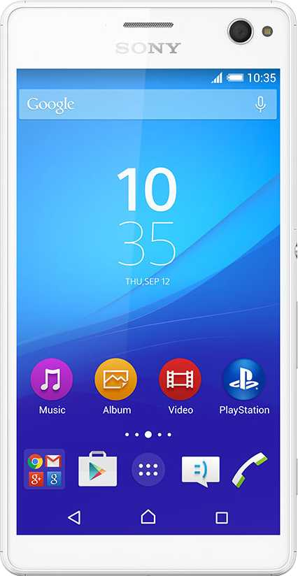 General Mobile GM 5 Plus vs Sony Xperia C4