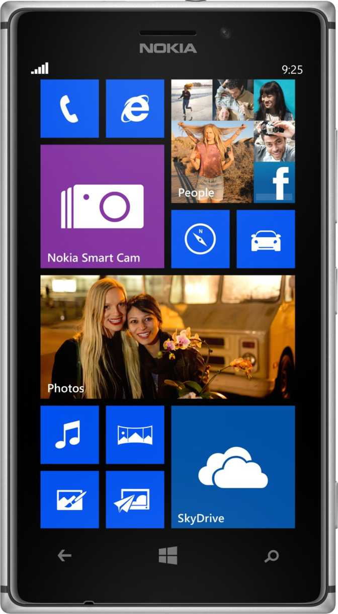 LG Optimus Black P970 vs Nokia Lumia 925