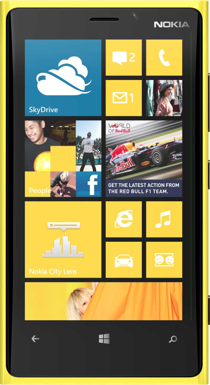 Nokia Lumia 920 vs HTC Desire S