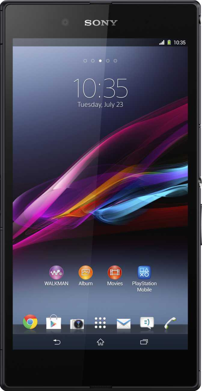 Sony Xperia Z Ultra vs Huawei Ascend D quad XL