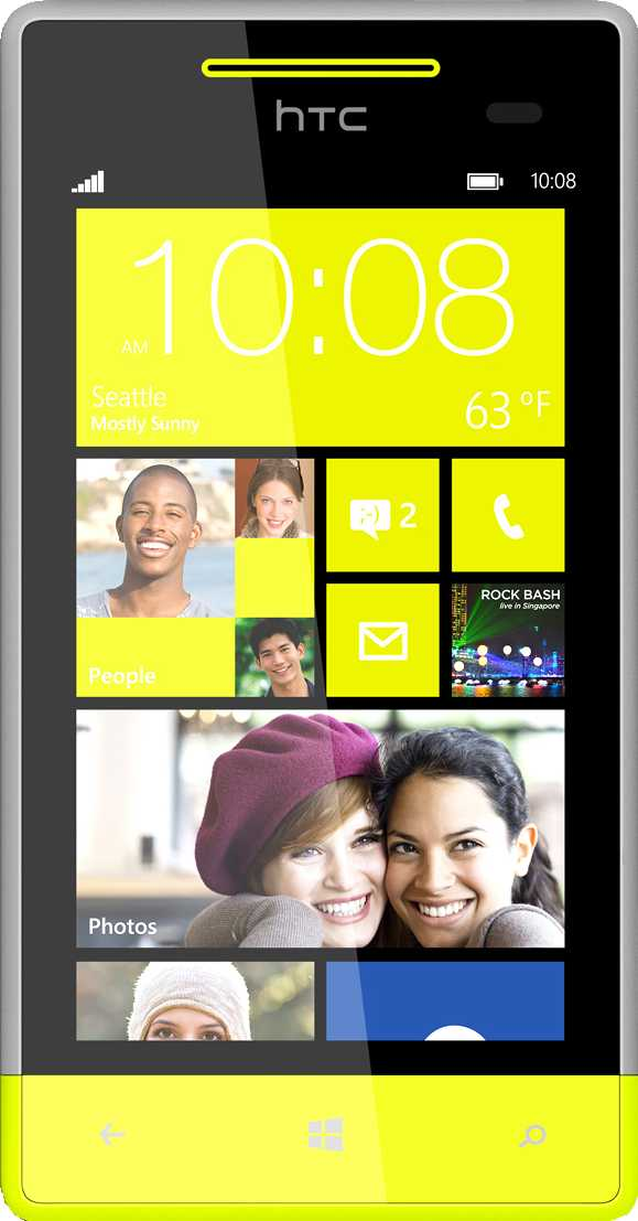HTC Windows Phone 8X vs HTC 8S